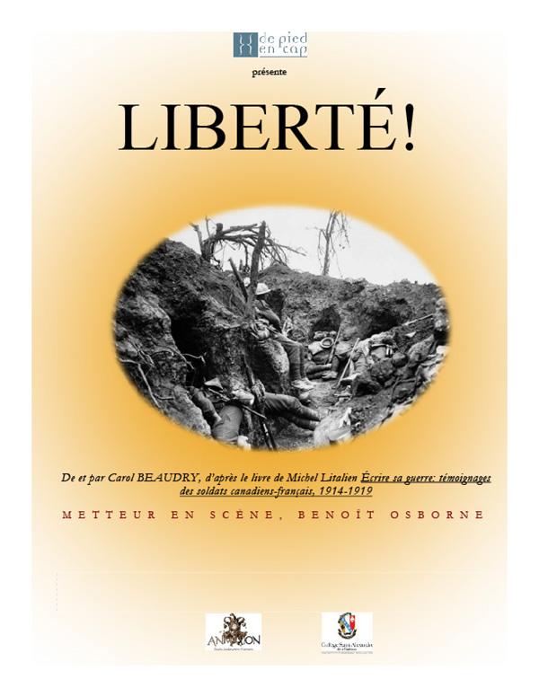 Liberté! Pièce de théâtre